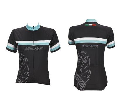 Bianchi Lady Sport Shirt korte mouw zwart