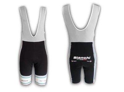 Bianchi Team Carbon broek kort Grijs mt S